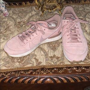 Blush Pink Nikes